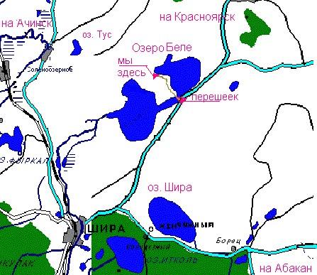 Дача Павлова .:. Проезд: http://otdih-bele.narod.ru/map.html